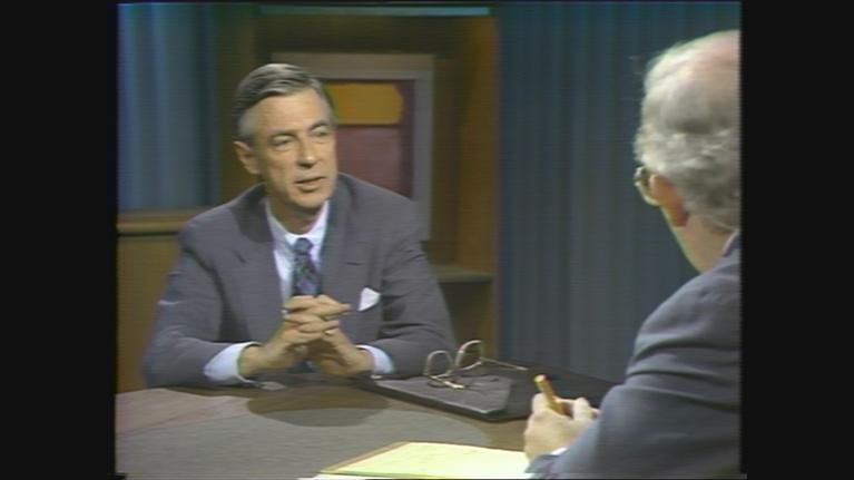 Chicago Tonight: Fred Rogers on Chicago Tonight in 1985