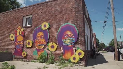 PBS NewsHour : How art is retelling the powerful stories of Tulsa massacre