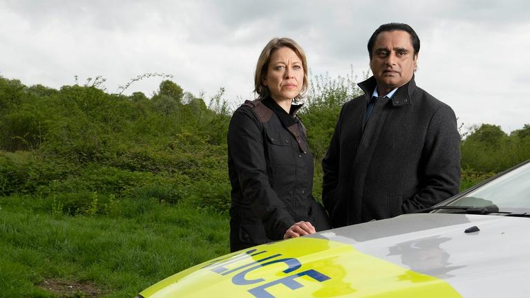 Unforgotten: Nicola Walker and Sanjeev Bhaskar