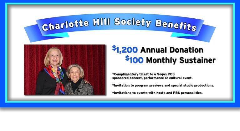 Vegas PBS: Vegas PBS Charlotte Hill Society | Bette LaCombe