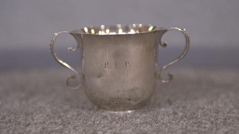 Antiques Roadshow -- S21 Ep22: Appraisal: John Dixwell Silver Cup, ca. 1710