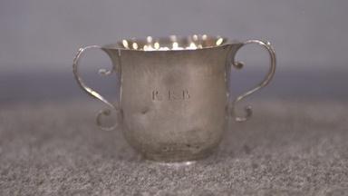 Appraisal: John Dixwell Silver Cup, ca. 1710