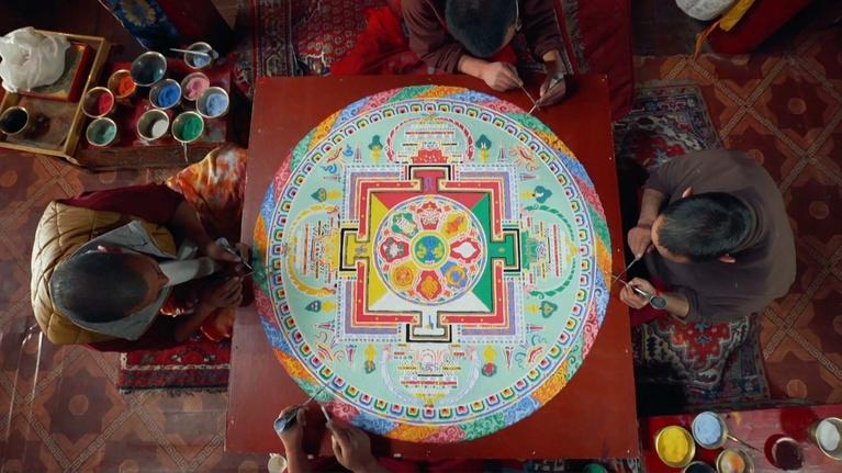 Kingdoms of the Sky: Meditation and the Mandala