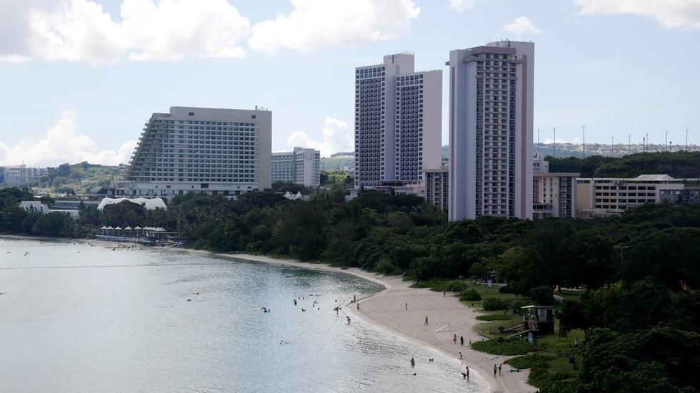 Guam on alert after North Korean threats image