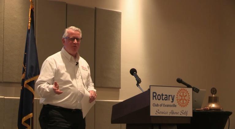 Evansville Rotary Club: Regional Voices: Glenn Roberts, Tri-State Food Bank