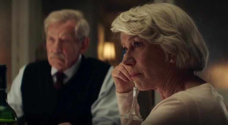 """Flicks: Ian McKellen & Helen Mirren for """"The Good Liar"""""""