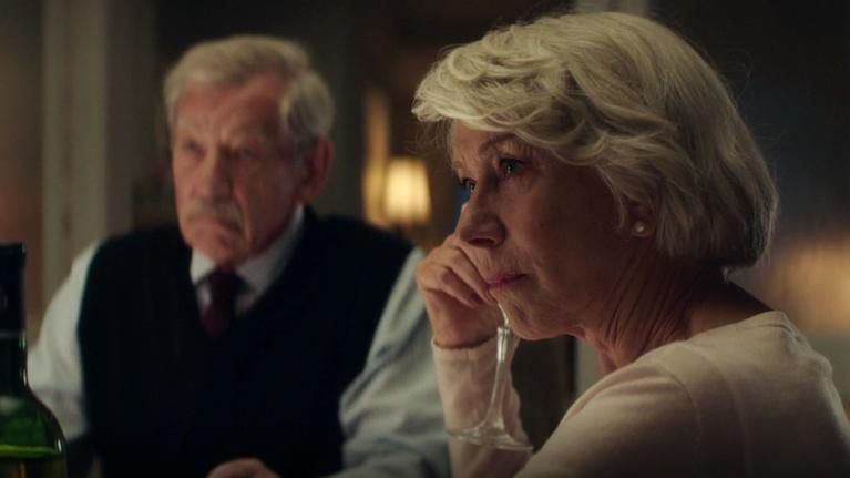 "Flicks: Ian McKellen & Helen Mirren for ""The Good Liar"""