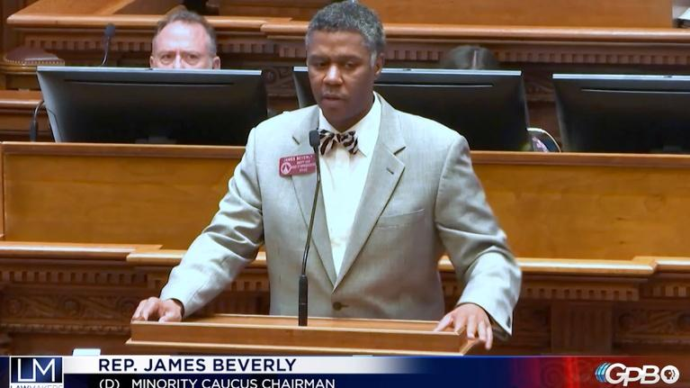 Lawmakers: James Beverly Thanking Leadership