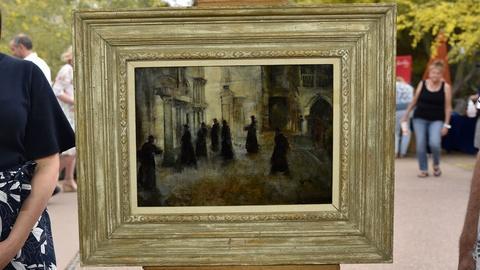 S24 E10: Appraisal: Grigory Gluckman Oil Painting, ca. 1950