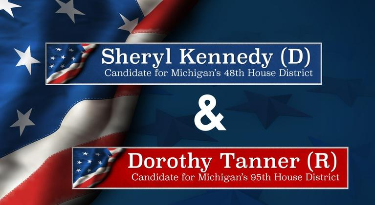 Meet the Candidates on CMU Public Television: Meet the Candidates Kennedy (D-48) and Tanner (R-95)