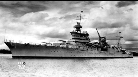 PBS NewsHour -- How the USS Indianapolis was finally rediscovered