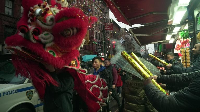 PBS NewsHour: Lion dancer makes impact on Chinese Lunar New Year tradition