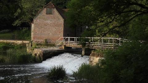 This medieval mill is providing a British county with bread