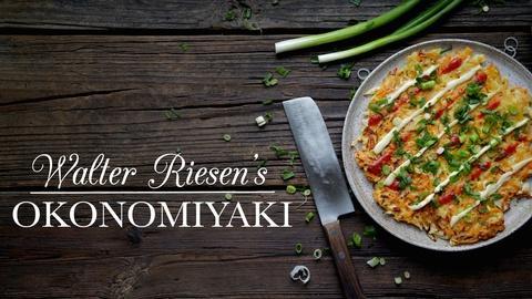 Kitchen Vignettes -- Walter Riesen's Okonomiyaki