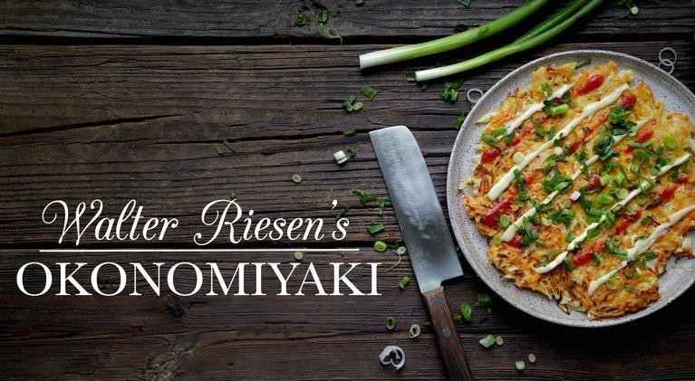 Kitchen Vignettes: Walter Riesen's Okonomiyaki
