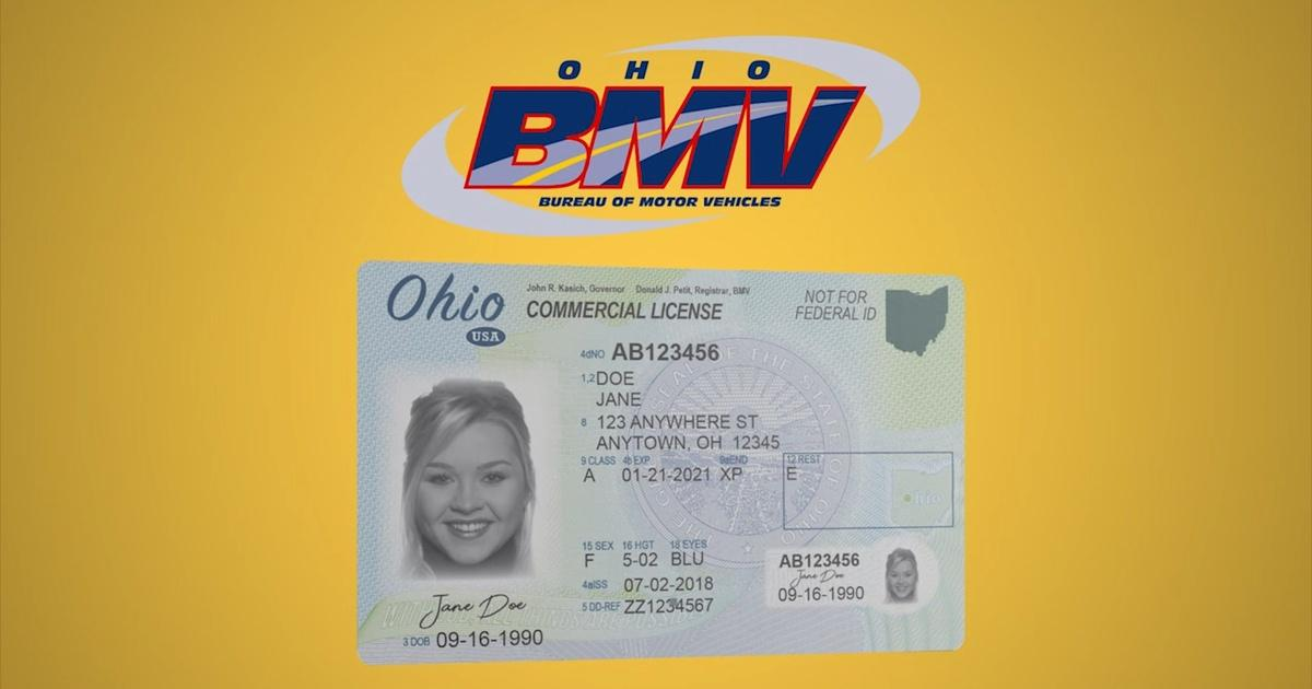 new drivers licence in ohio