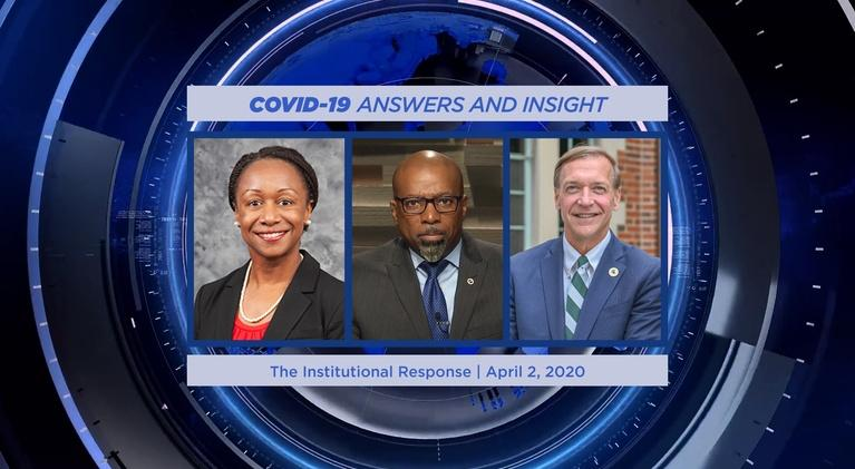WKAR Specials: The Institutional Response | COVID-19 Answers and Insight