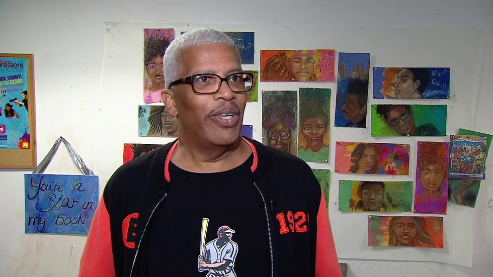 Graphic Artist Returns to Chicago to Inspire Next Generation image
