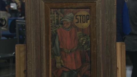 Antiques Roadshow -- Appraisal: 1950 Alfred Sessler Oil with Heydenryk Frame