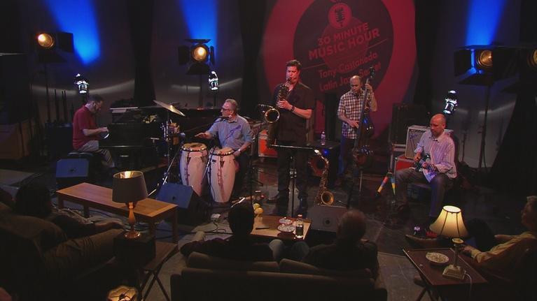 30-Minute Music Hour: Tony Castañeda Latin Jazz Sextet