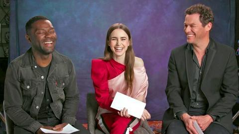 Les Miserables -- Cast Q&A