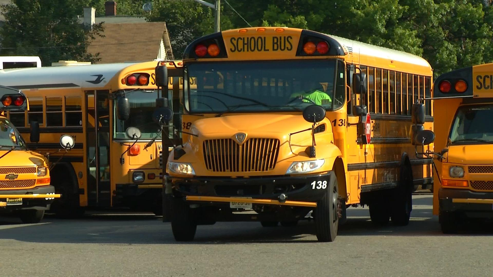 How long will it take for school buses to get seat belts?