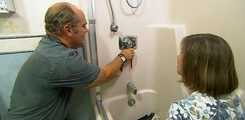 How to Repair a Squealing Shower