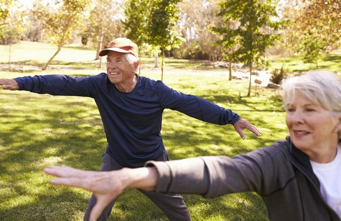 Practicing Tai Chi Can Help Prevent Falls