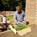 How to Install a Raised Vegetable Garden with Arbors